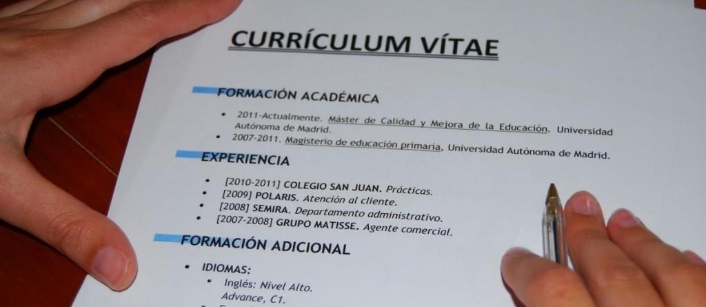 Un buen currículum vítae: Síntesis y claridad – Portal de Empleo de ...